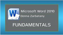 Image of Microsoft Word 2010: Fundamentals