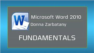 Microsoft Word 2010: Fundamentals