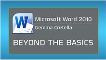 Image of Microsoft Word 2010: Beyond the Basics