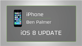 iPhone iOS 8 Update
