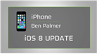 Image of iPhone iOS 8 Update